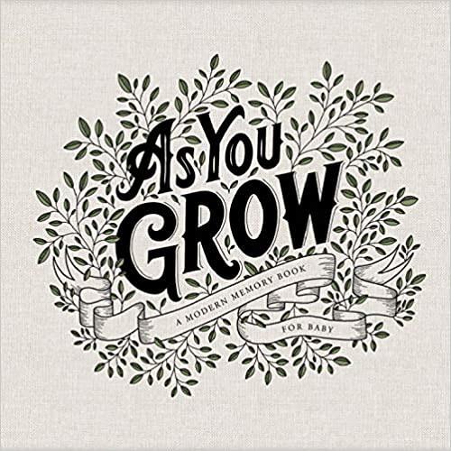 As You Grow: A Modern Memory Book For Baby - Amazon