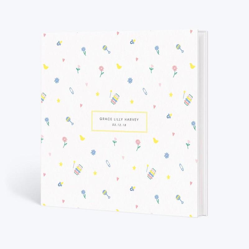 Baby Basics Hardback Photo Book - Papier