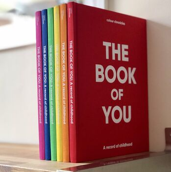 The Book Of You: A Record Of Childhood - Not On The High Street