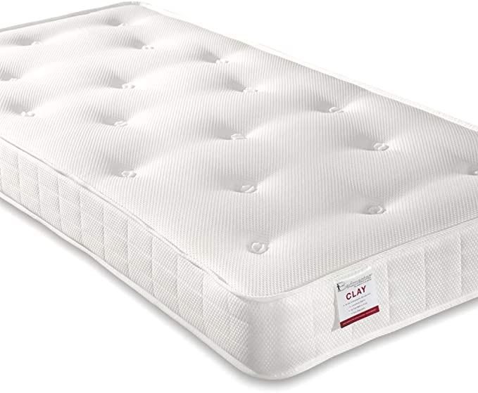 Happy Beds Clay Orthopedic Sprung Mattress.