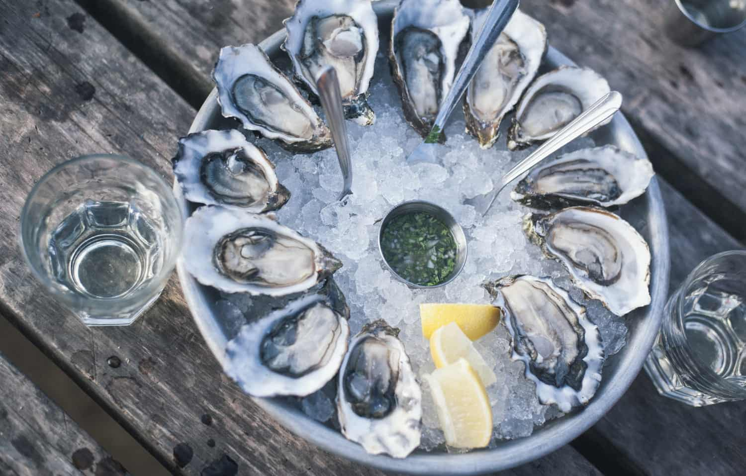 Oysters are an acquired taste but many people love them