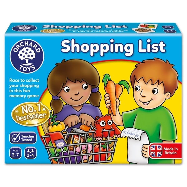 Orchard Toys Shopping List Game.