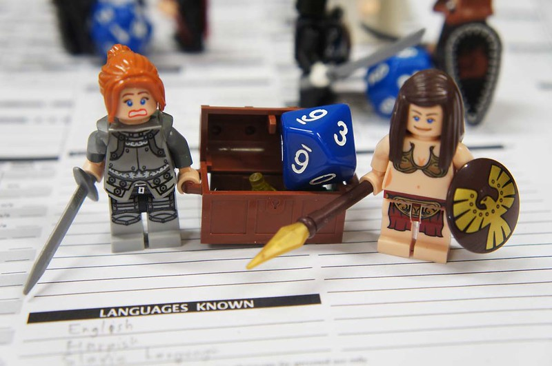 Air Genasi lego figurines inspiring your names for characters.