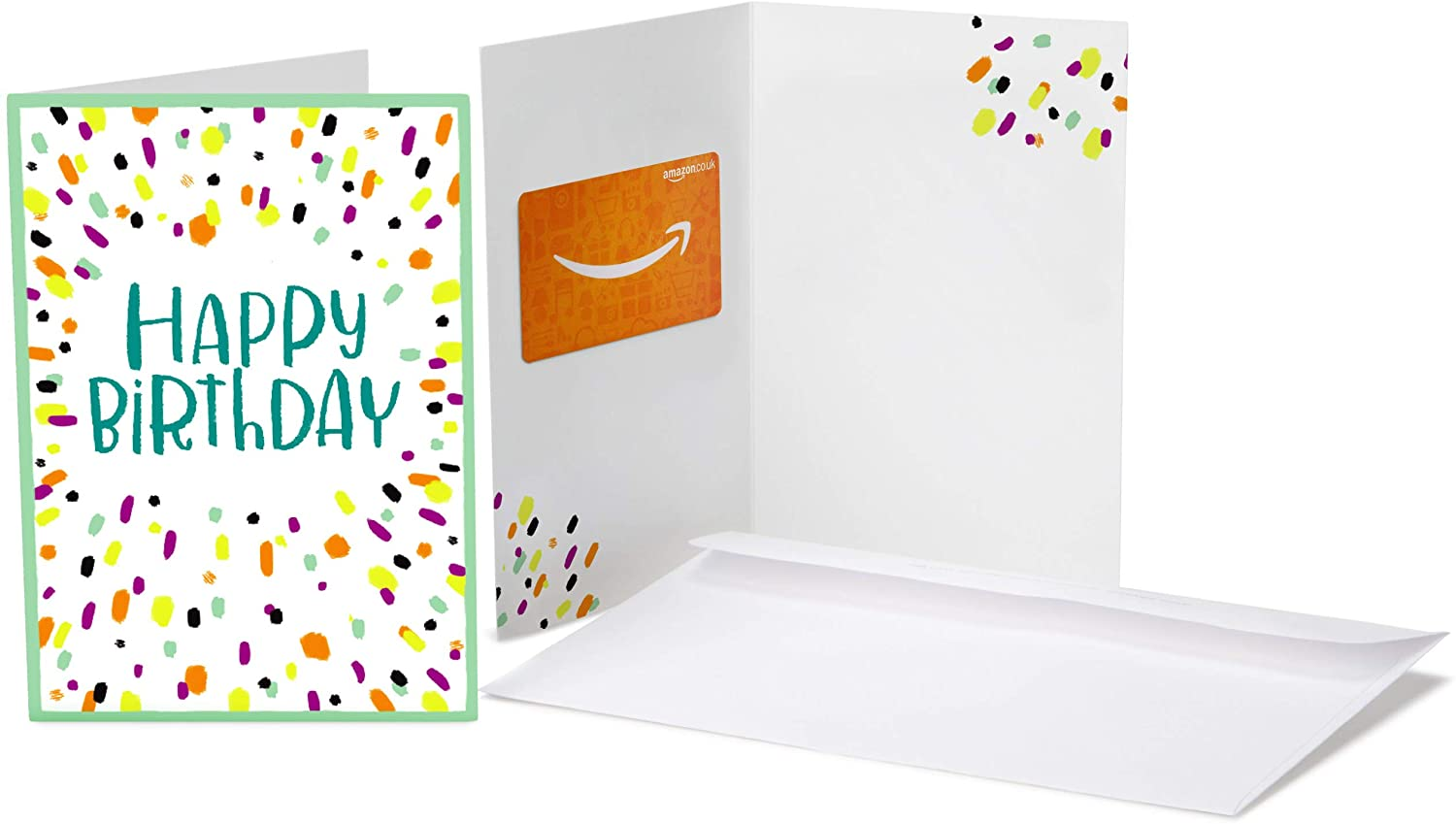 Amazon.co.uk Gift Card In A Greeting Card.