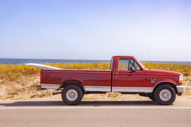 Choose the best name for your red pick up truck.