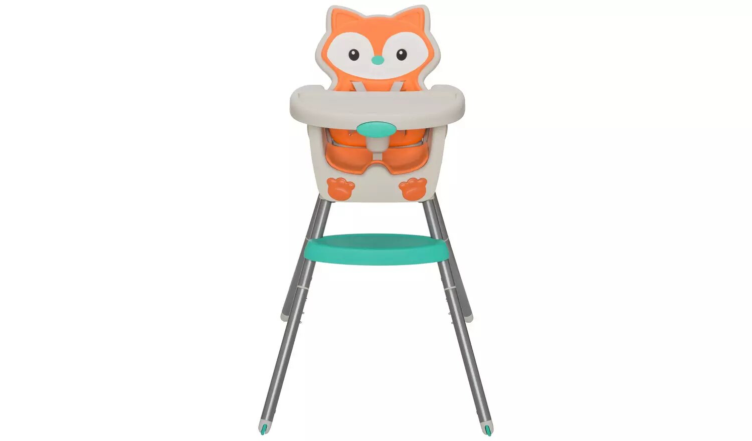 Infantino Fox Grow With Me 4-In-1 Convertible Highchair.