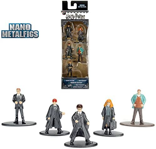 Jada Nano Metalfigs Harry Potter Figures.
