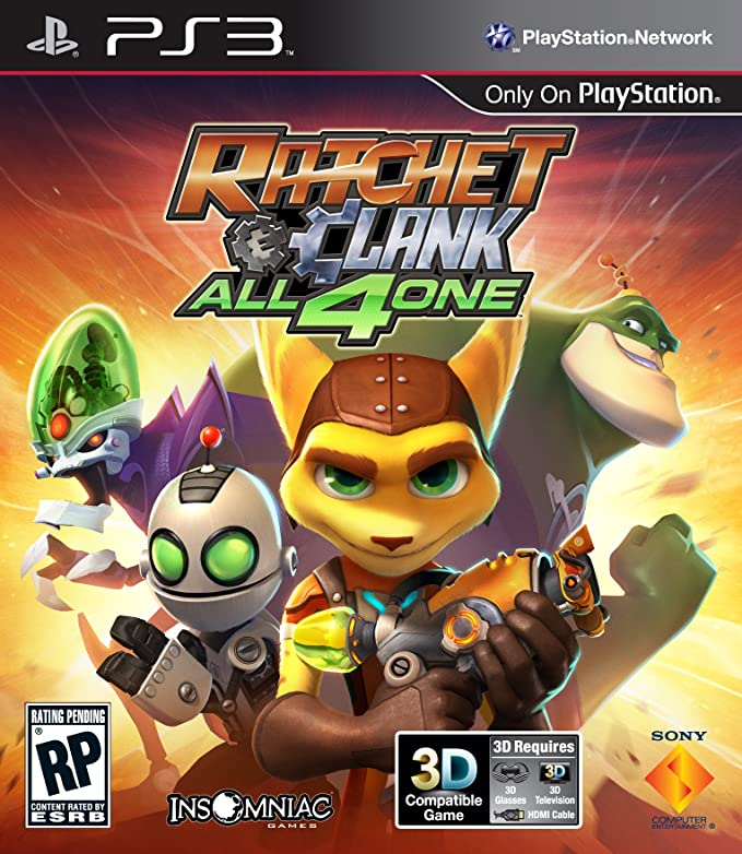 Ratchet & Clank: All 4 One.
