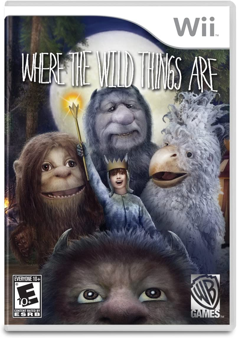 Where The Wild Things Are: The Videogame.