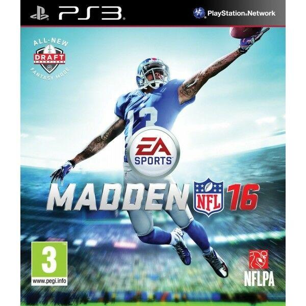 Madden NFL 16.