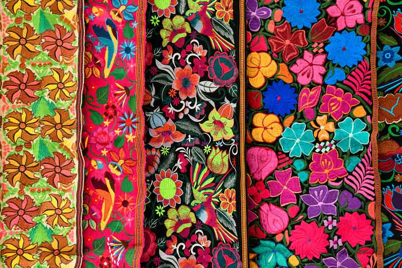 There are so many beautiful patterns from across all cultures, paisley and stripes are some of our favorites