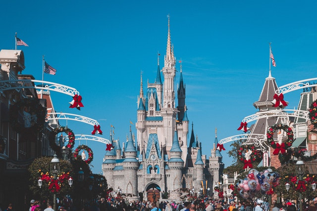 Disney World is one of the most visited attractions in Florida.