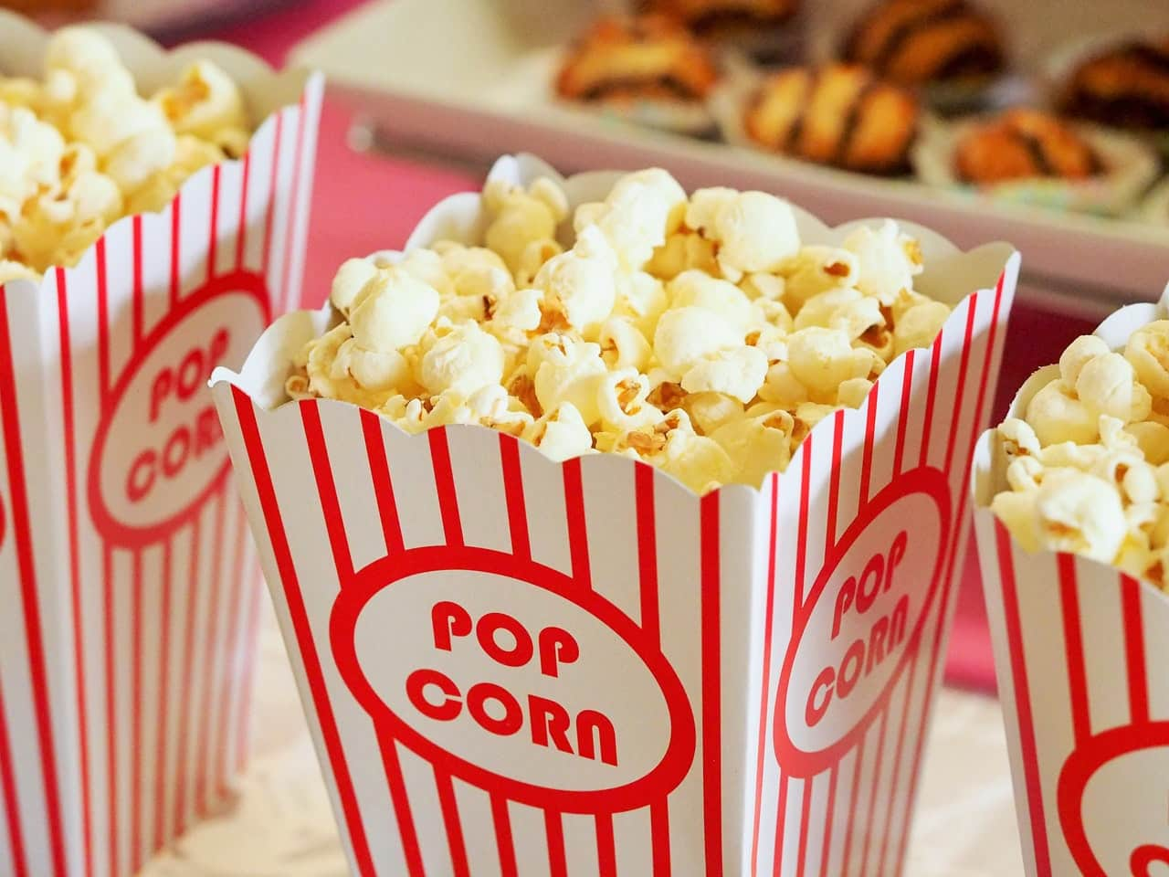 Joking about popcorn in the movies is a money move.
