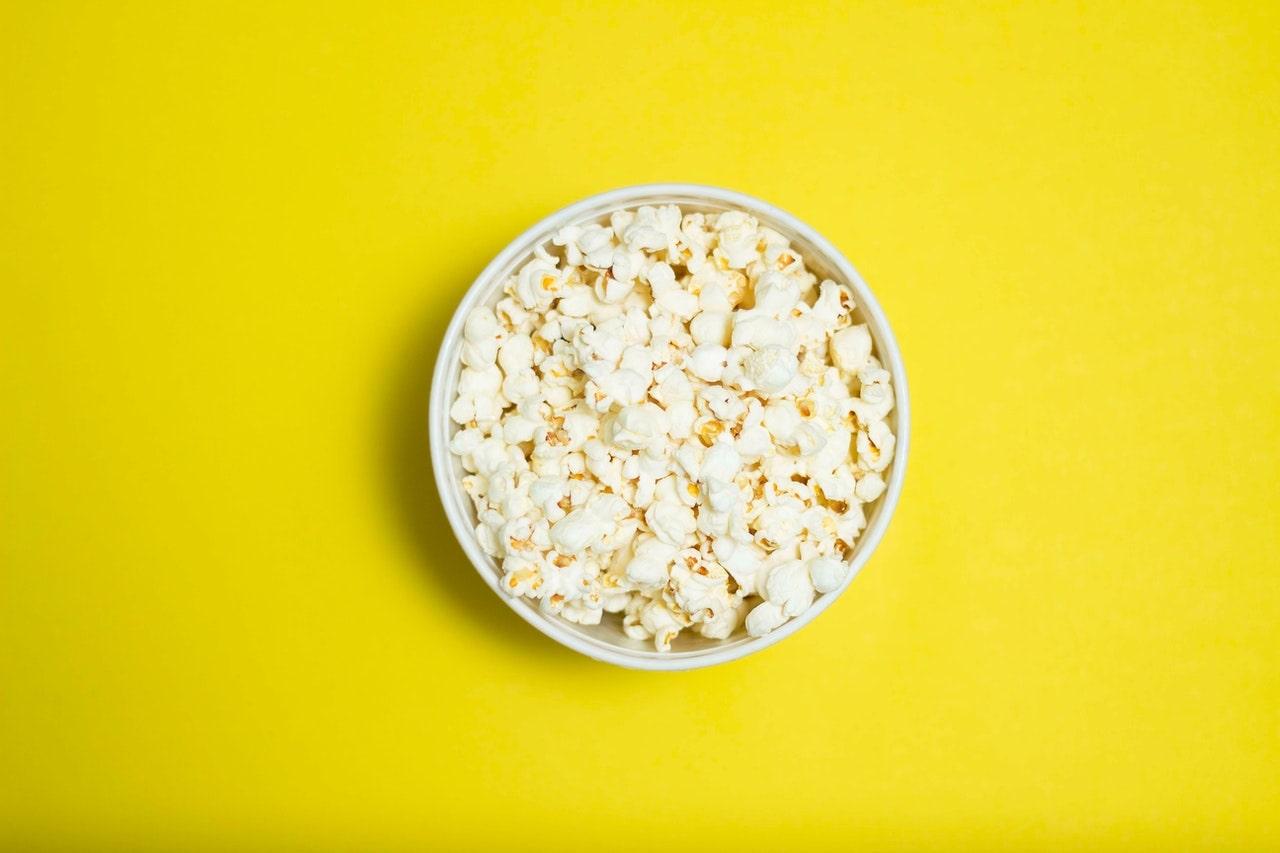 A popcorn joke may or may not be corny.