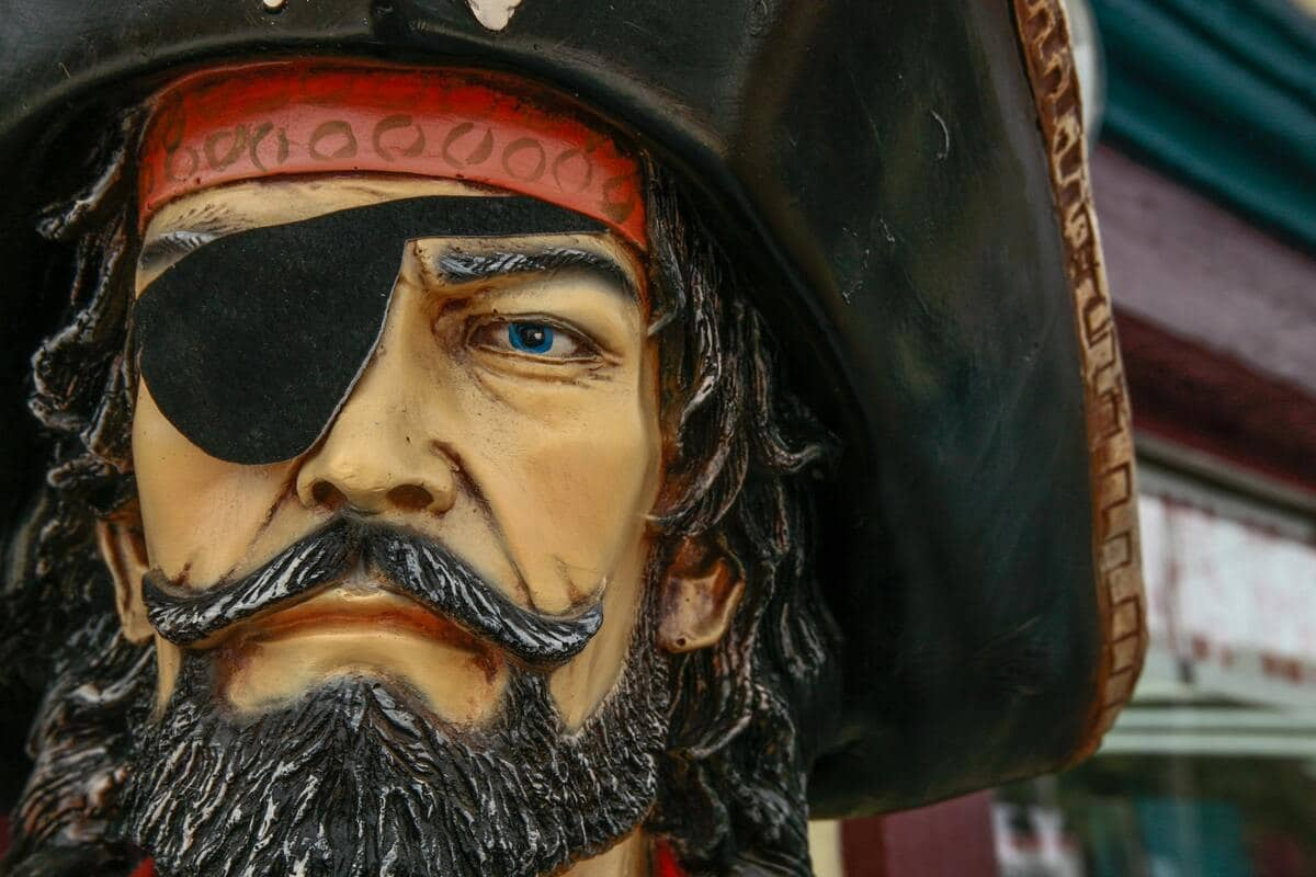 This list has some of the wittiest pirate puns that include funny pirate sayings like 'aye'.