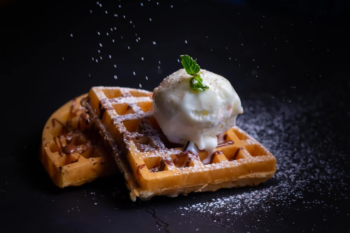 Jokes about waffles will surely make everyone crack up in squares.