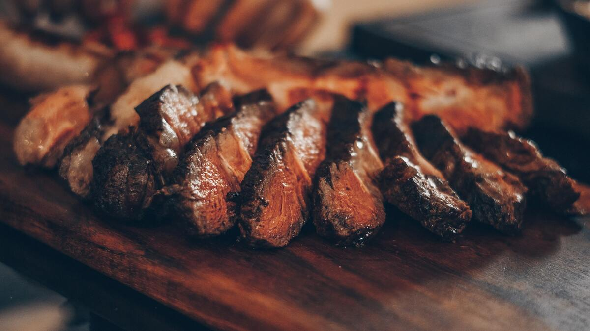 Meat is always happy at barbecues because there they meet their old flames.