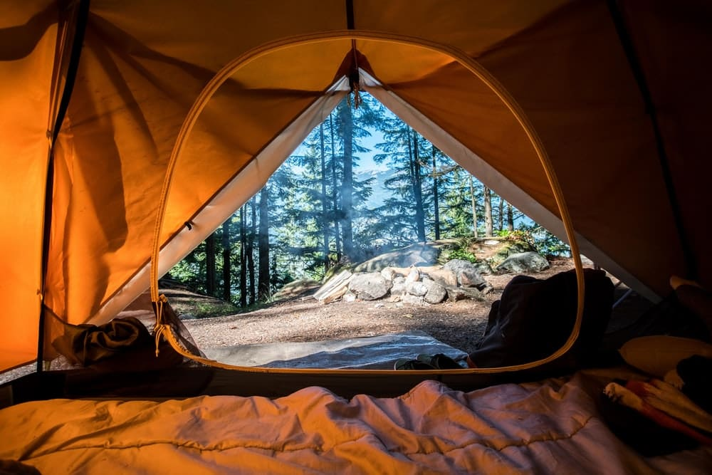 Camping is a great way to bond