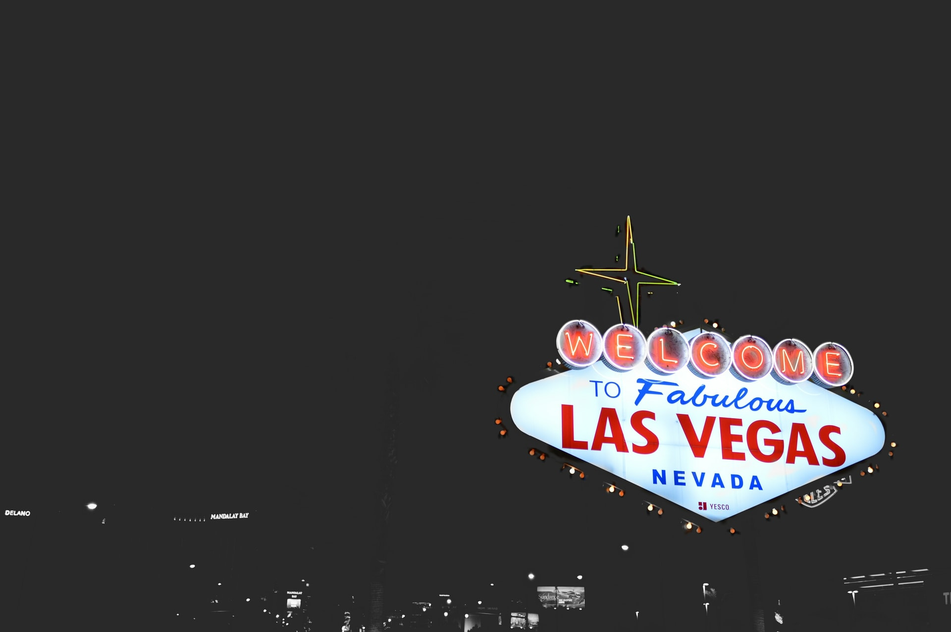 """Las Vegas is known as the """"City of Lights."""""""