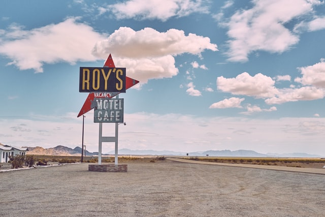 Roy's Motel and Cafe is one of the iconic stops on Route 66.
