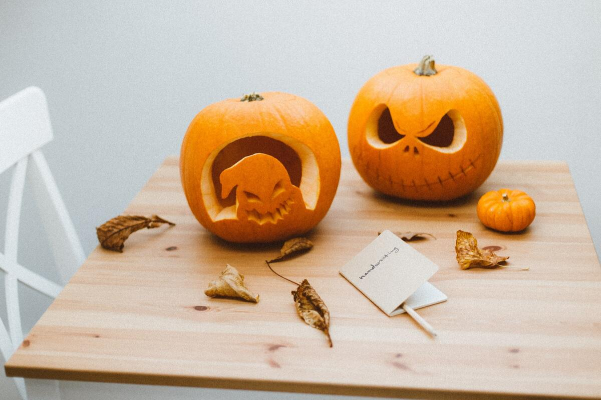 Fall is the best time to get crafty with pumpkins.