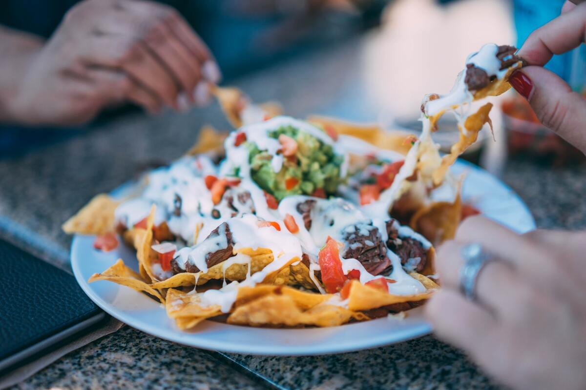 Nachos are one of the most popular snacks in the world.