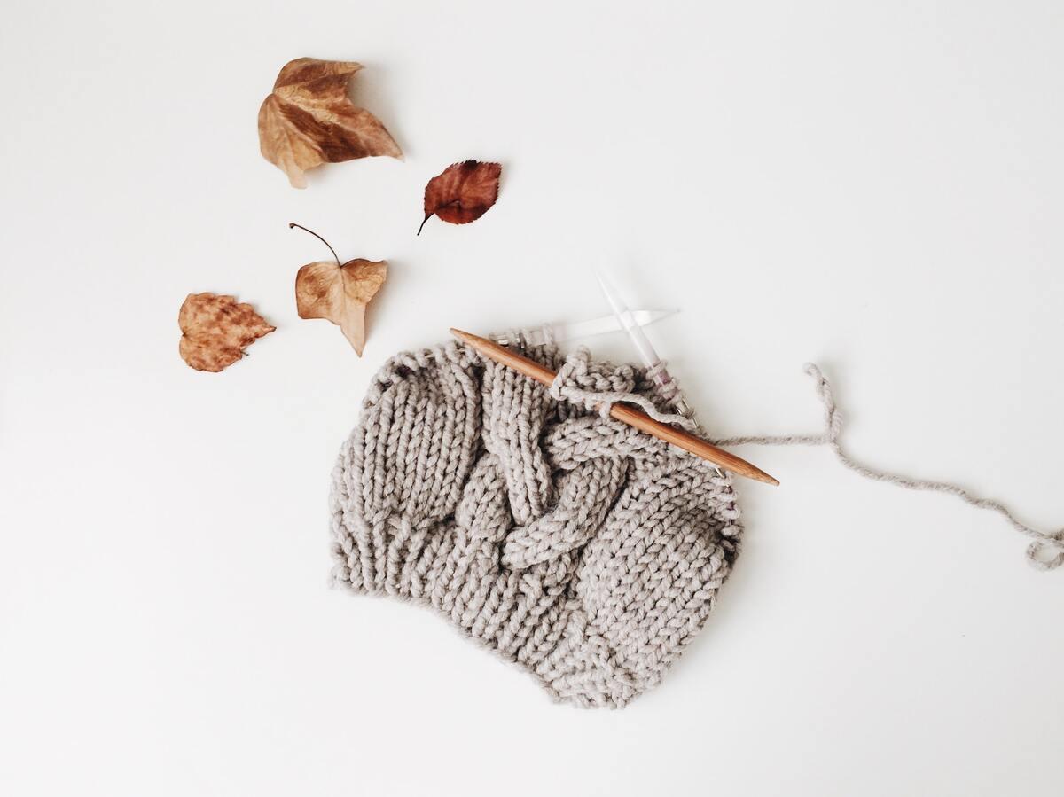 Thinking of a great knitting pun takes shear hard work.