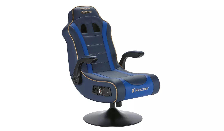 X Rocker Adrenaline V.II 2.1 Bluetooth Audio Gaming Chair.