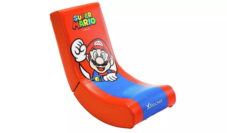 X Rocker Video Rocker Junior Gaming Chair - Mario.