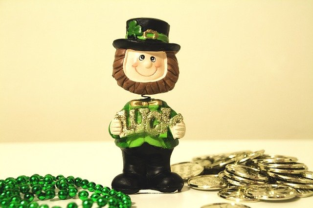 When a leprechaun is happy, St Pat-trick day is on!