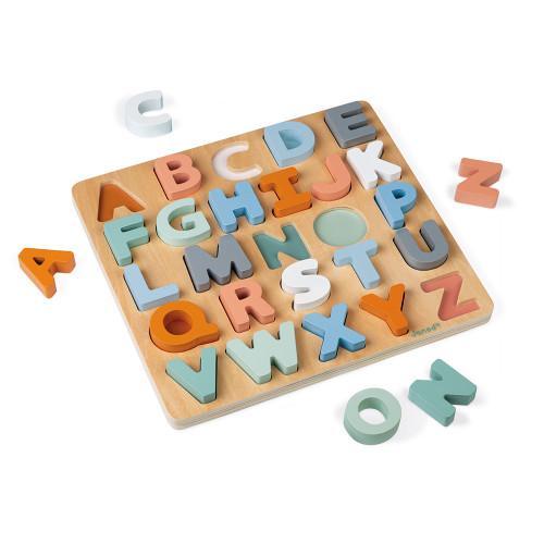 Janod Sweet Cocoon Alphabet Puzzle.
