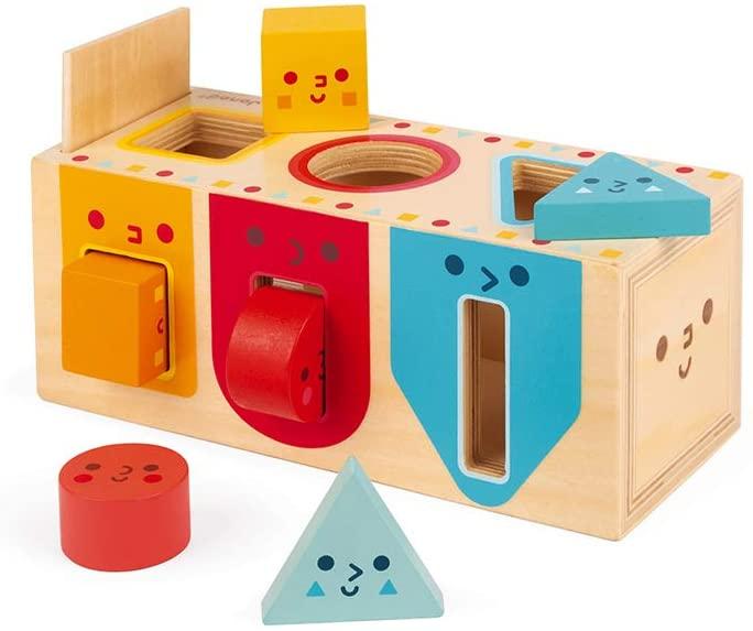 Janod Geometric Shapes Box.