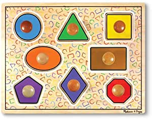 Melissa & Doug Deluxe Jumbo Wooden Puzzle.