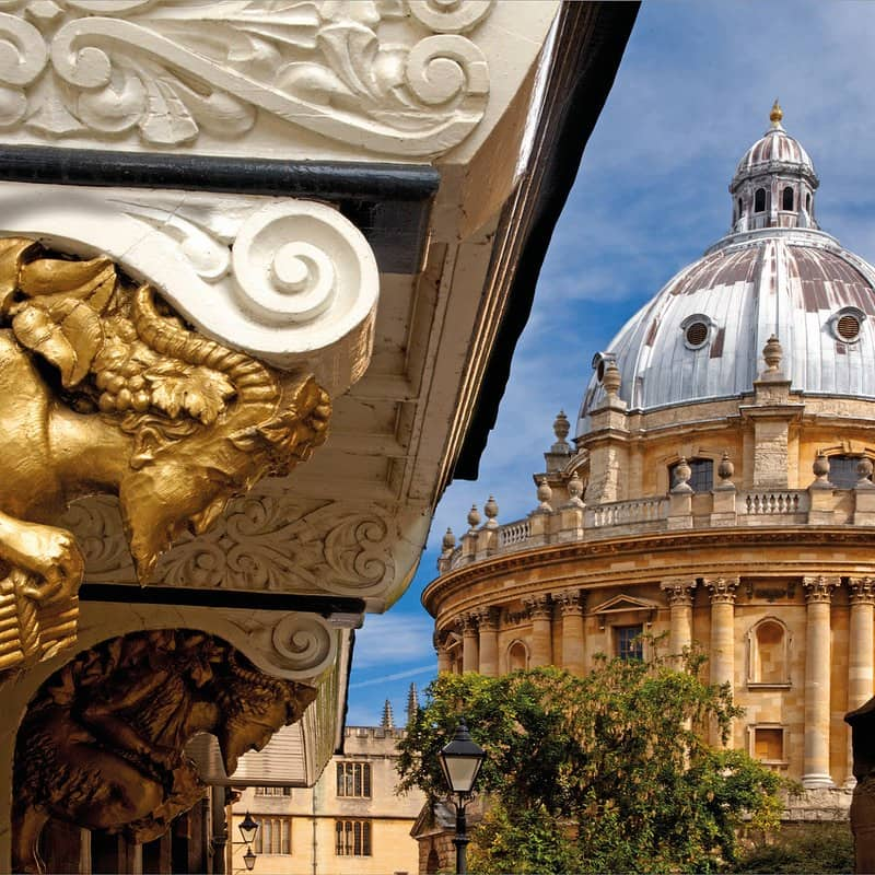 The Bodleian Library in Oxford.