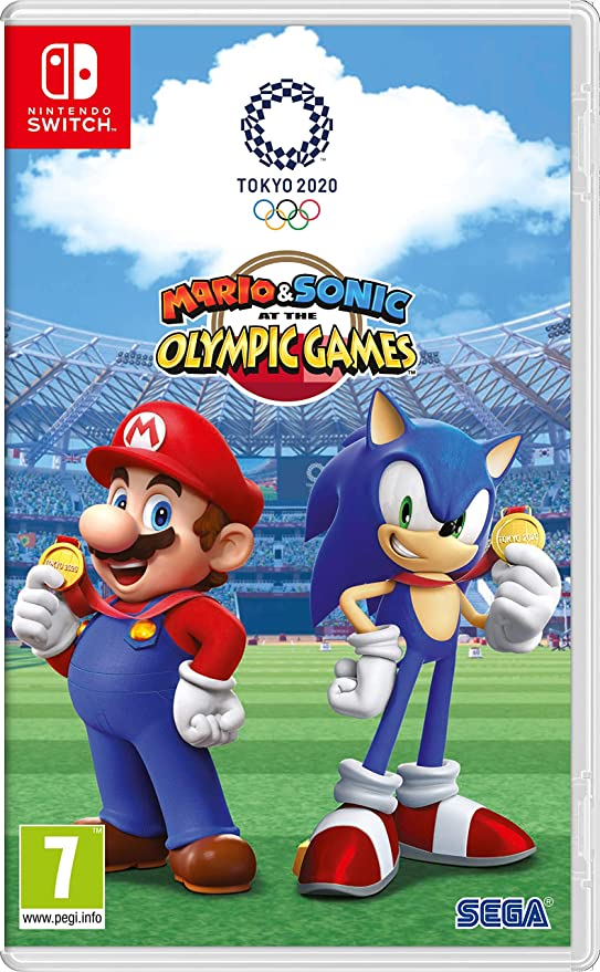 Mario & Sonic At The Olympic Games Tokyo 2020.