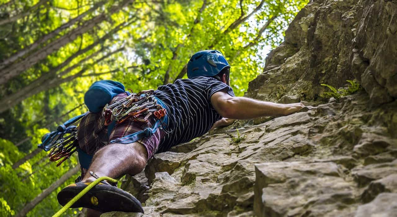 Those with hazel eyes are said to love extreme sports such as rock climbing.