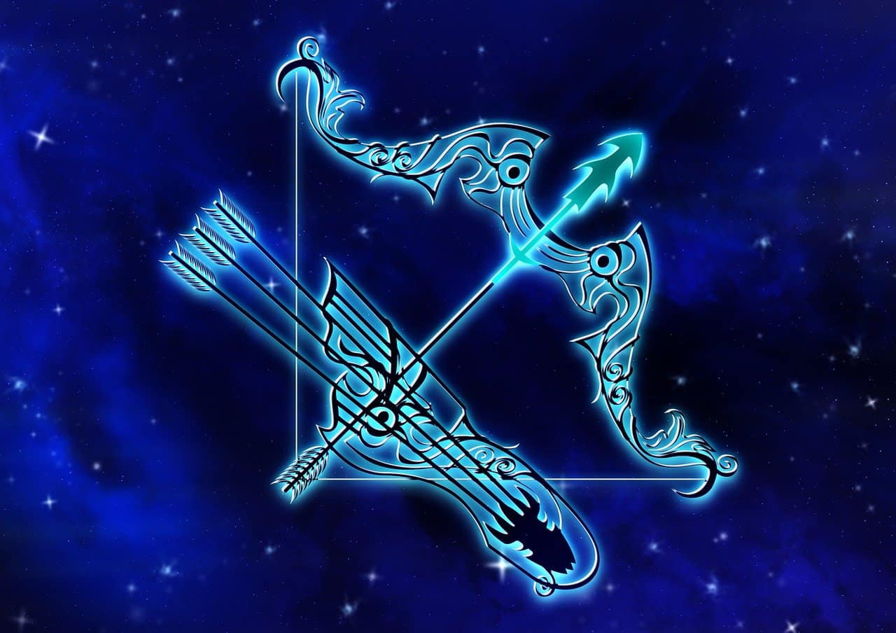 The symbol for Sagittarius is the Archer.