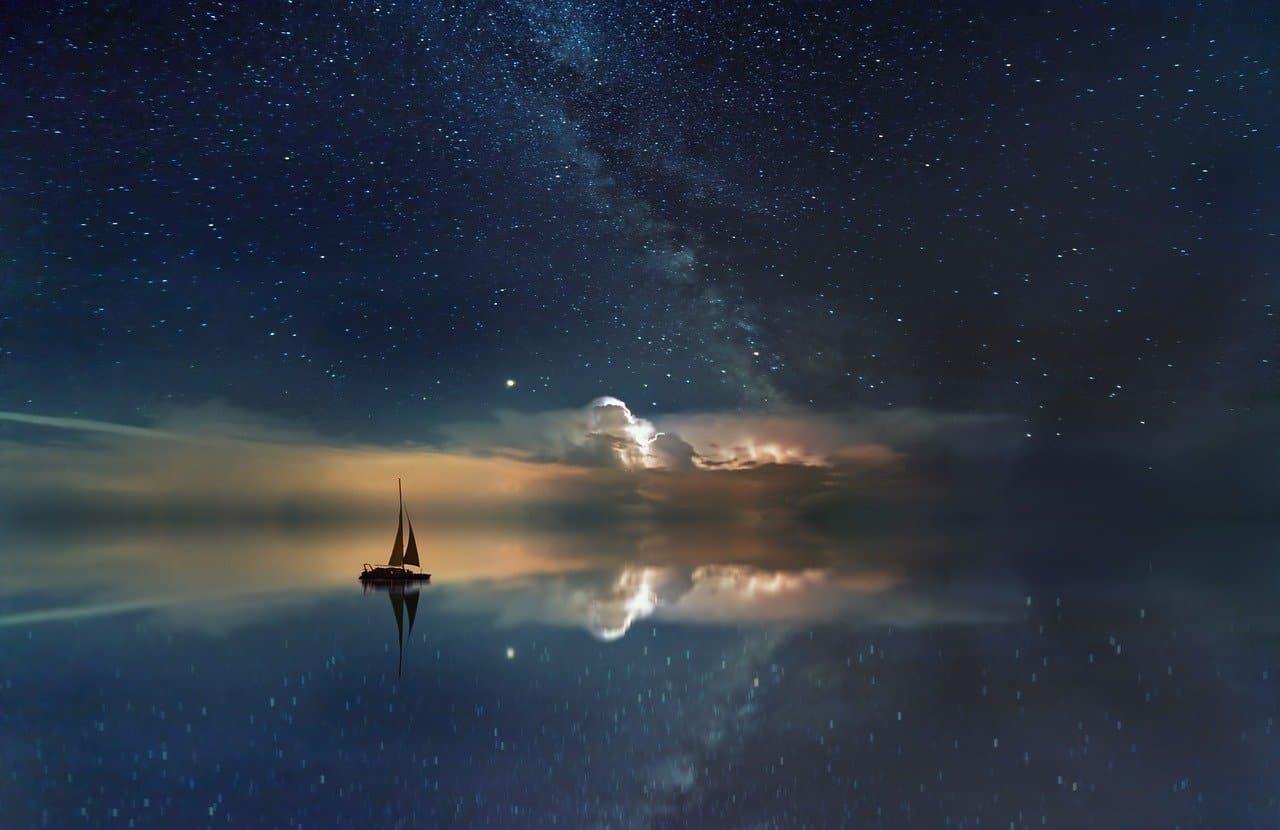 The heart of the Milky Way lies in Sagittarius.
