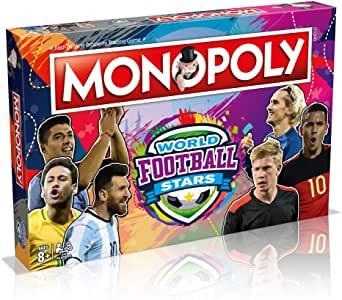 World Football Stars Monopoly Board Game.