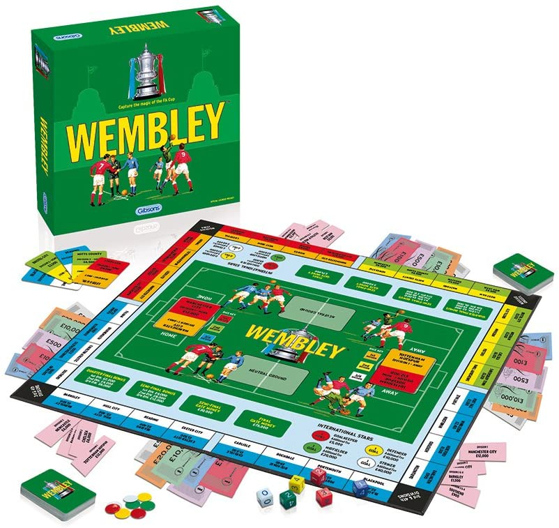 Gibsons Wembley Family Board Game.
