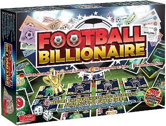 Football Billionaire Board Game.