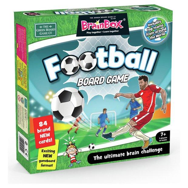 BrainBox Football Large Quiz Game - Argos.