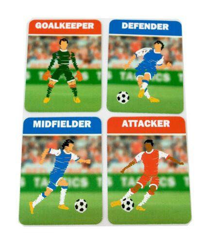TAC-TICS Football Card Game.