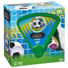 Trivial Pursuit Game World Football Stars Edition - Zavvi.
