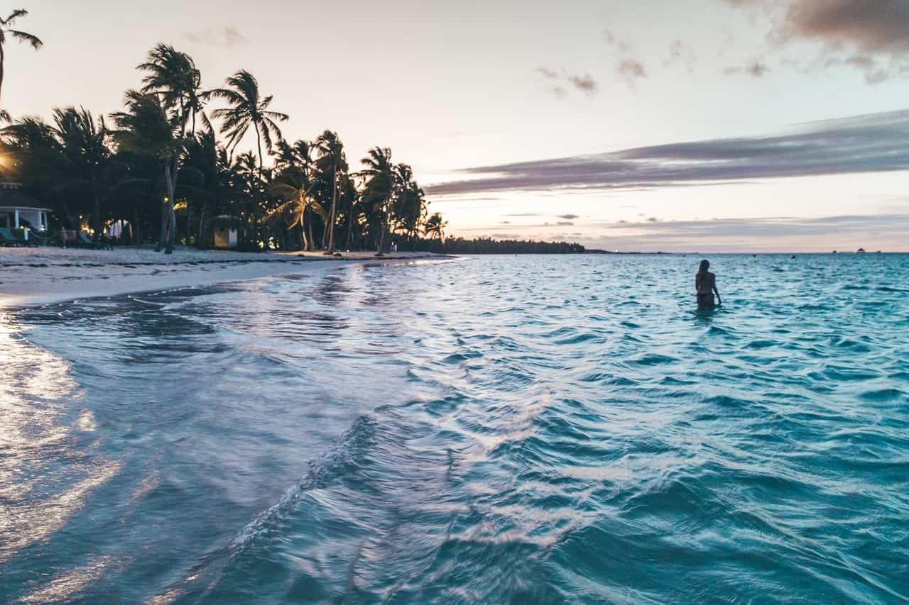 Beach lovers flock to the Dominican Republic's beautiful shores.