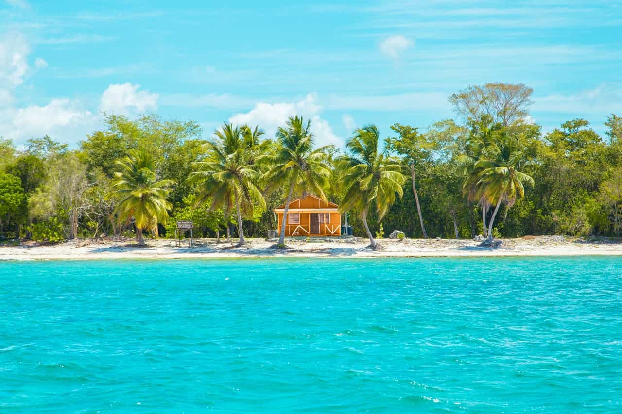 You are sure to find bright colors and good weather in the Dominican Republic.
