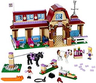 LEGO Friends 41126 Heartlake Riding Club Building Kit - Amazon.