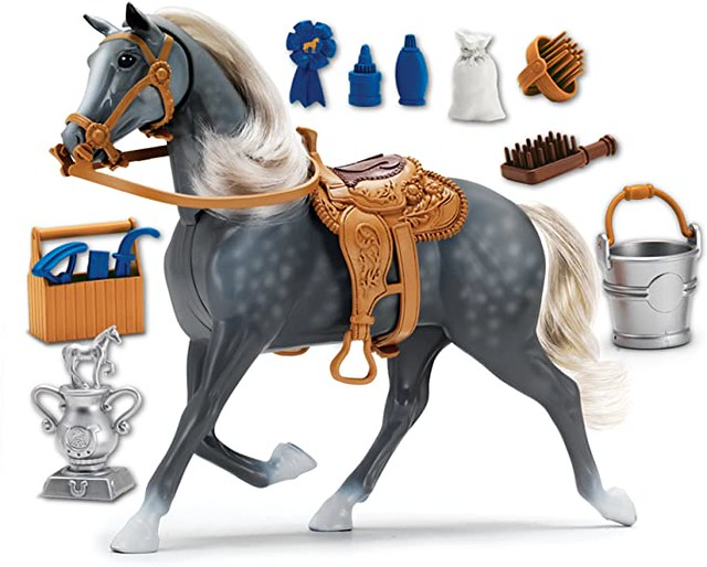 Sunny Days Entertainment Blue Ribbon Champions Deluxe Horse: Morgan Toy - Amazon.