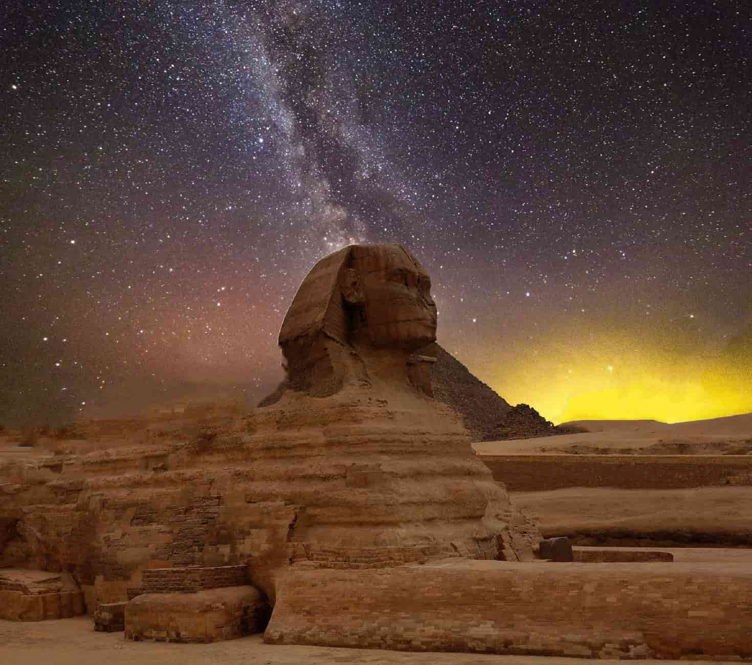 Ancient Egyptians were the first people to identify constellations.