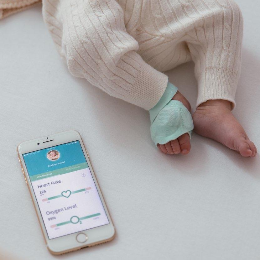 Owlet Smart Sock - Jojo Maman Bebe.